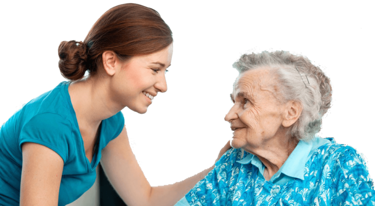 Client and Carer at The Leading Care Company