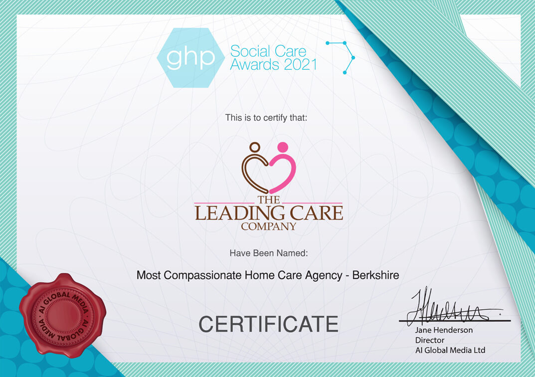 GHP Announces the 2020 Social Care Awards Winners